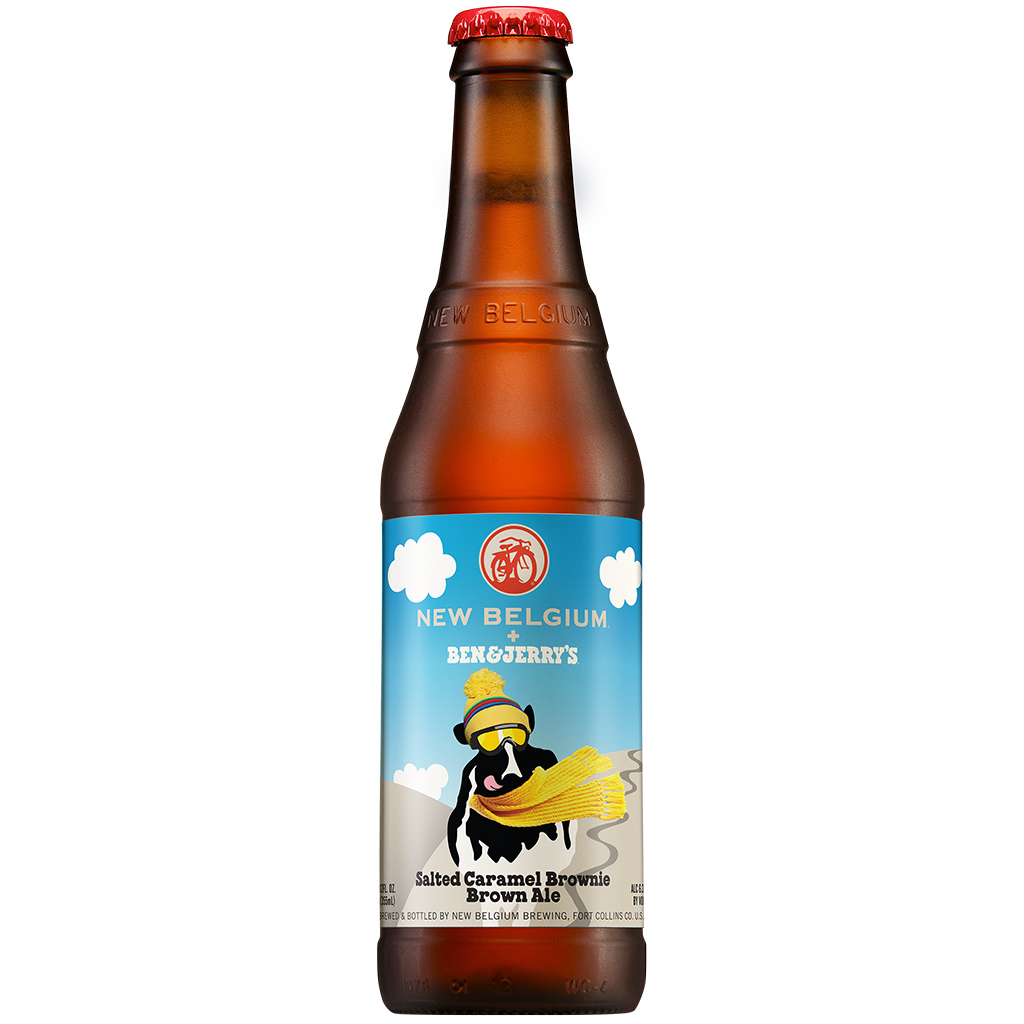 FWX BEN AND JERRYS BEER WITH NEW BELGIUM BOTTLE