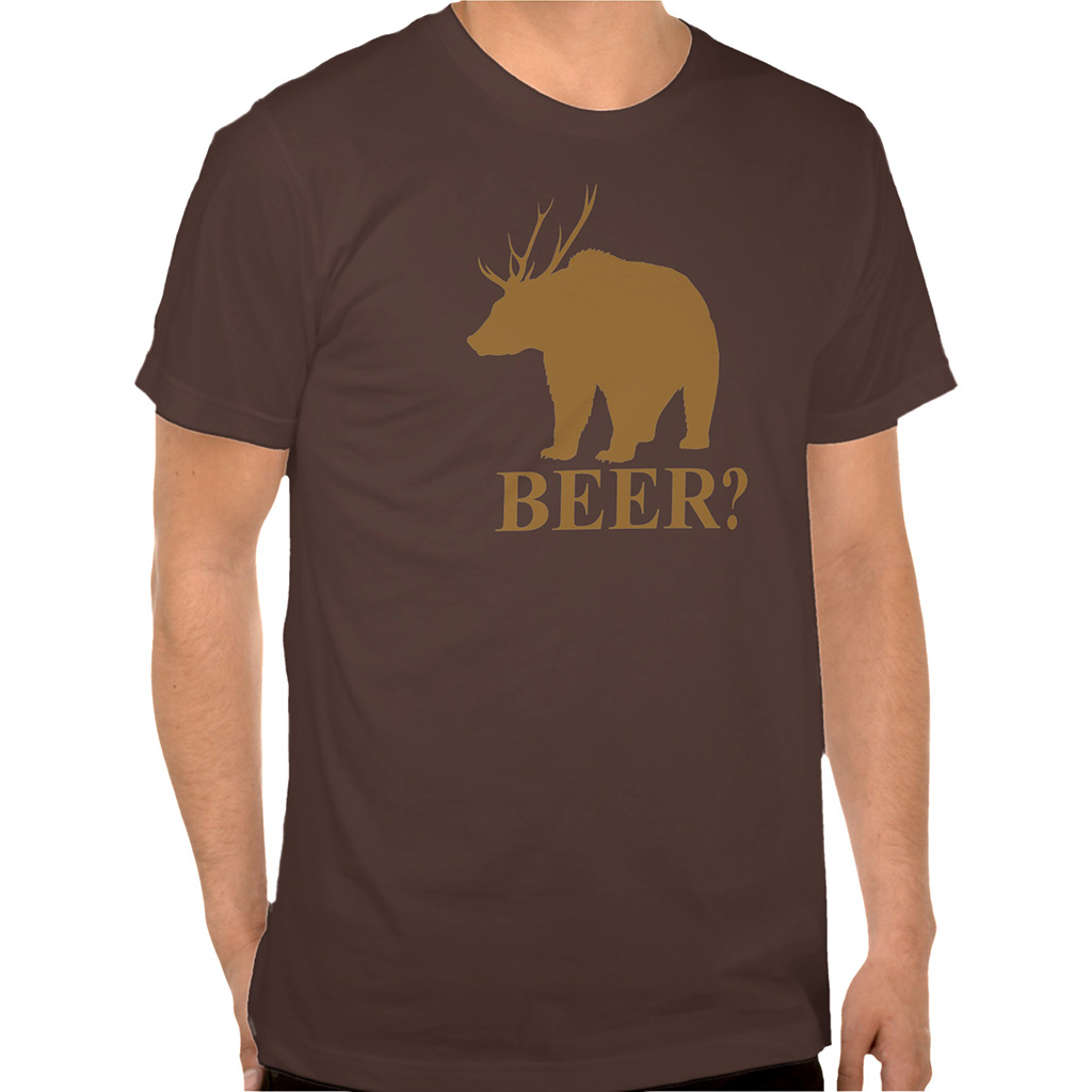 FWX BEST DRINKING TEES BEER DEER