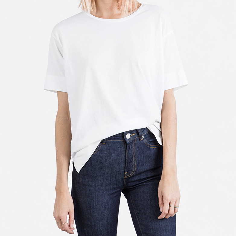 Everlane Drop-Shoulder Tee