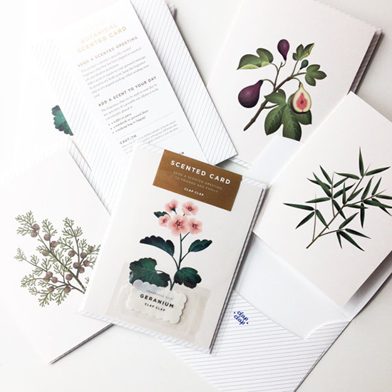 FWX BOTANICALLY SCENTED STATIONERY