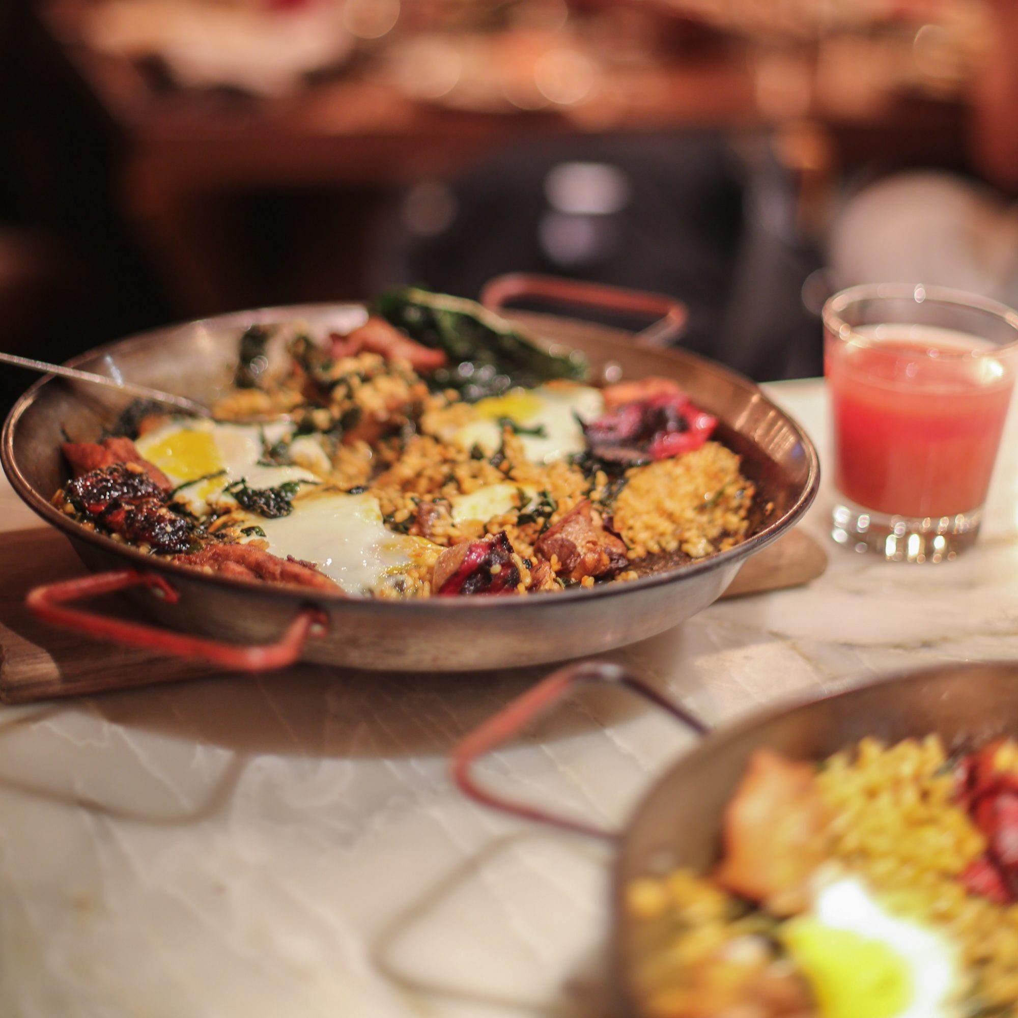 The Best Way to Paella? Brunch Paella