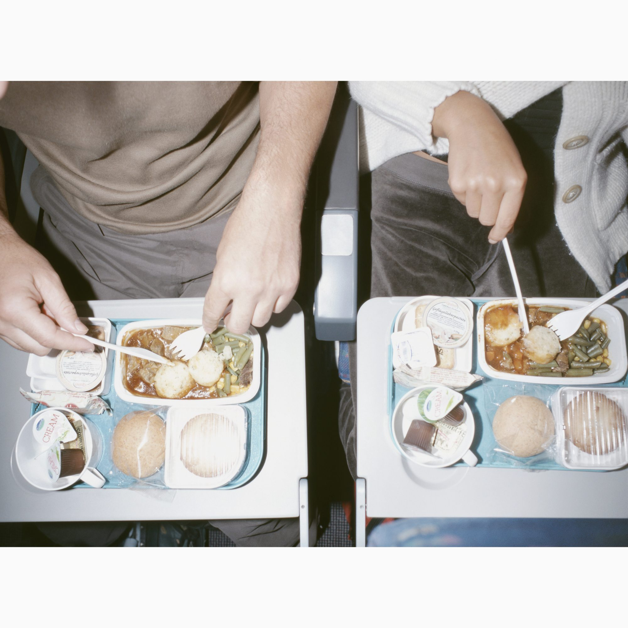 The Real Reason Why Food Tastes Different On An Airplane
