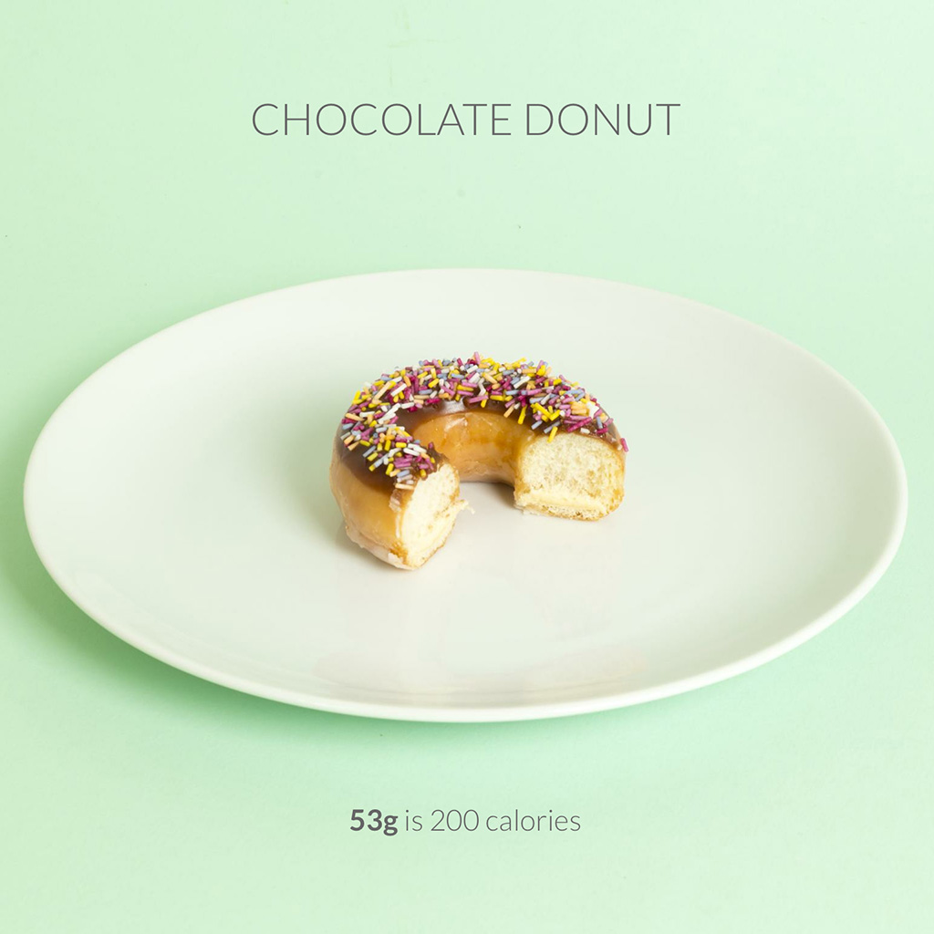 The Unfortunate Truth of What 200 Calories of Your Favorite Foods Really Look Like