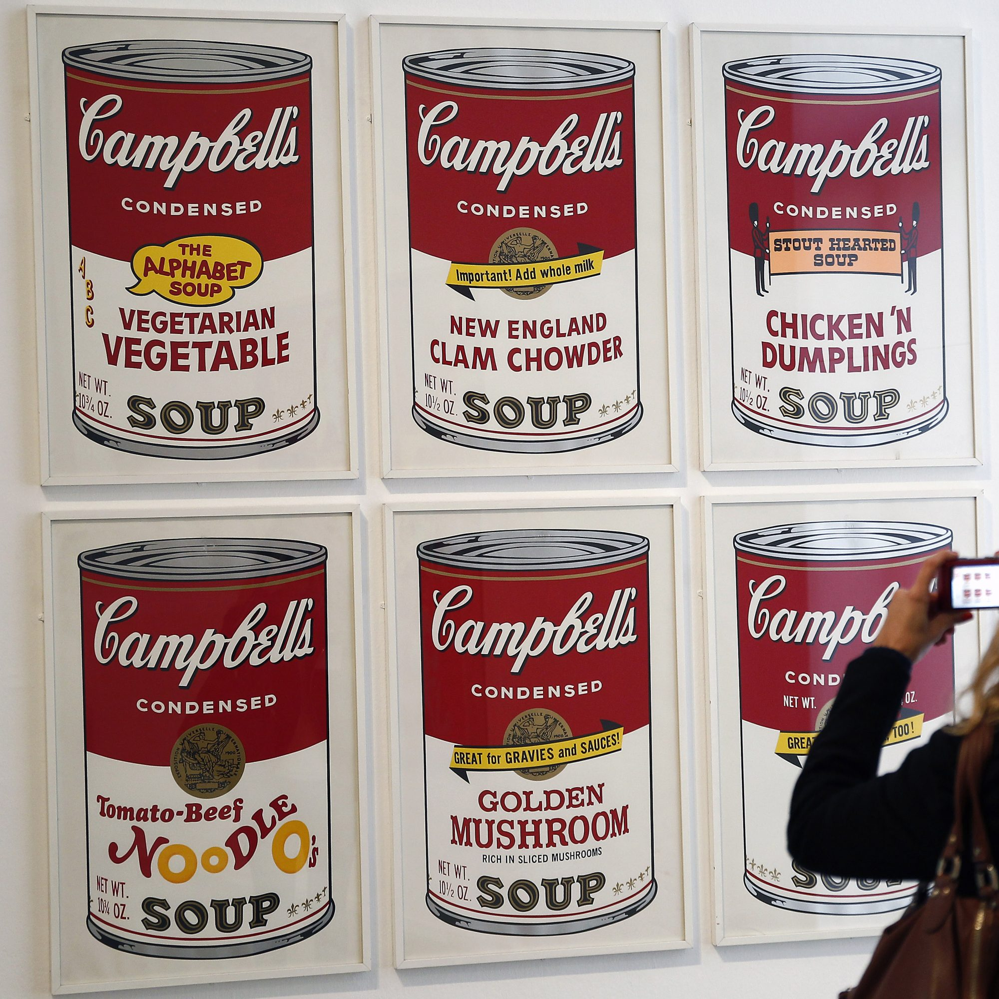 FWX CAMPBELL SOUP PRINTS