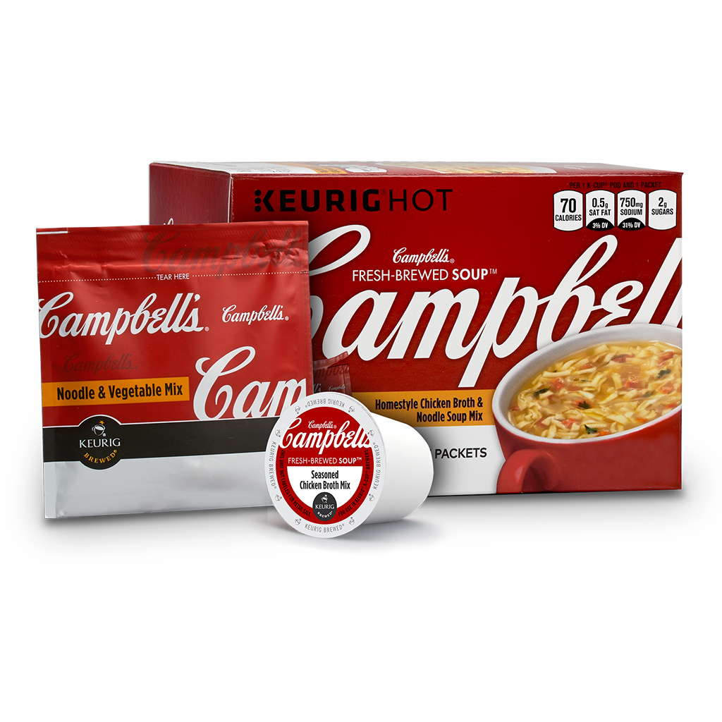 You Can Now Make Campbell's Soup in Your Keurig Machine