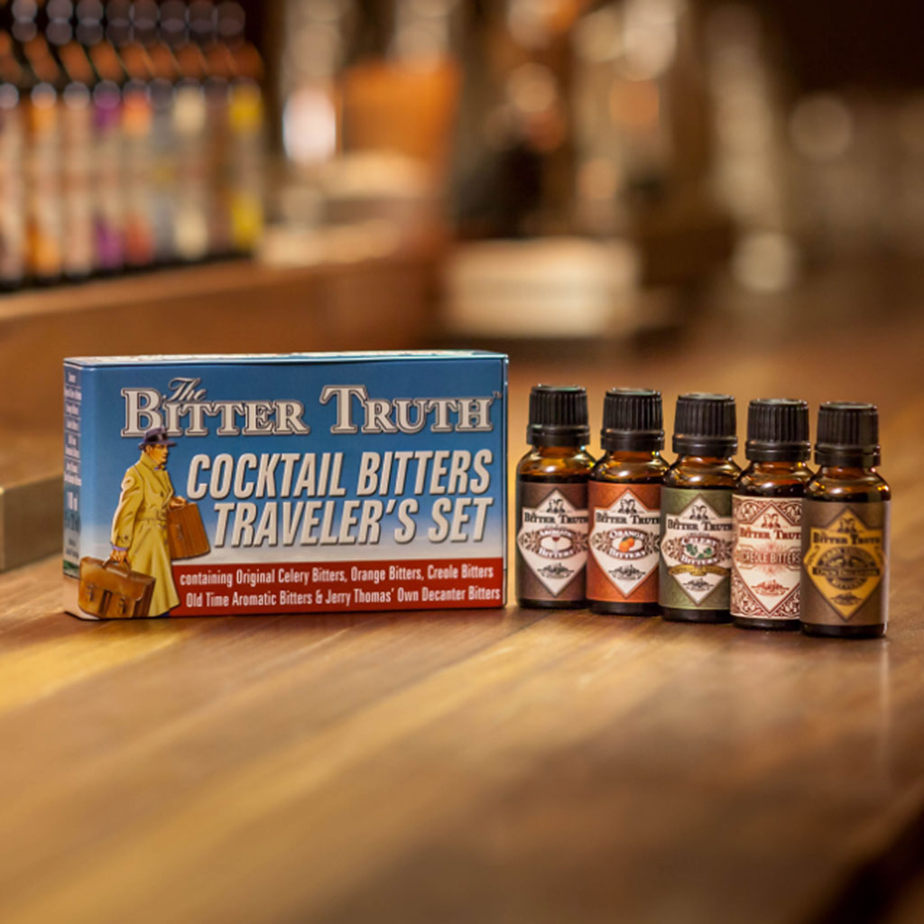 Bitter Truth Cocktail Bitters Traveler's Set