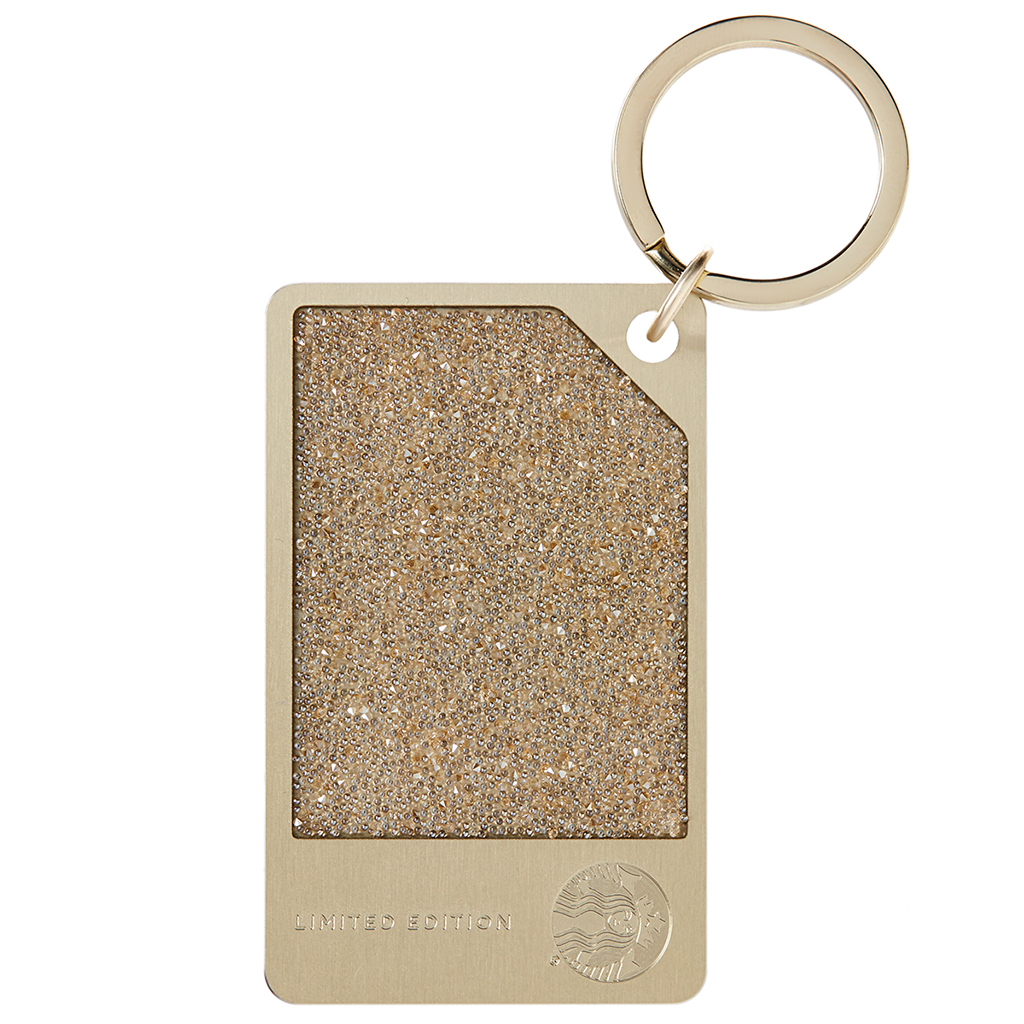 FWX CHAMPAGNE CRYSTAL STARBUCKS CARD