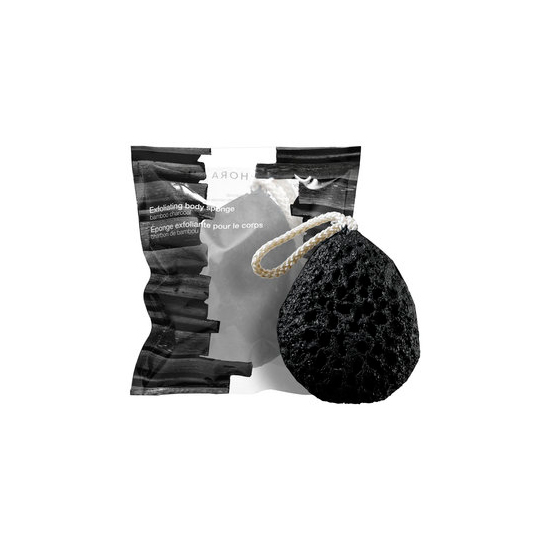 Bamboo Charcoal Exfoliating Body Sponge