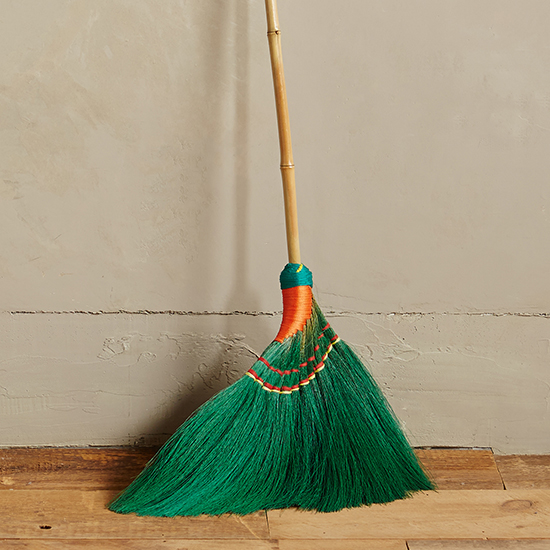 Skirted Broom