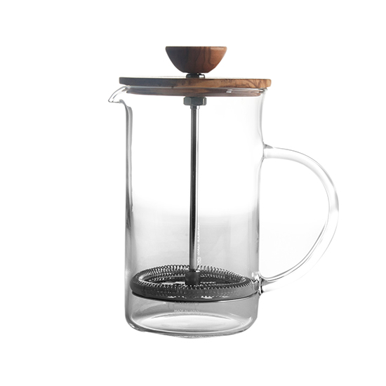 Hario Olive Wood Tea and Coffee Press