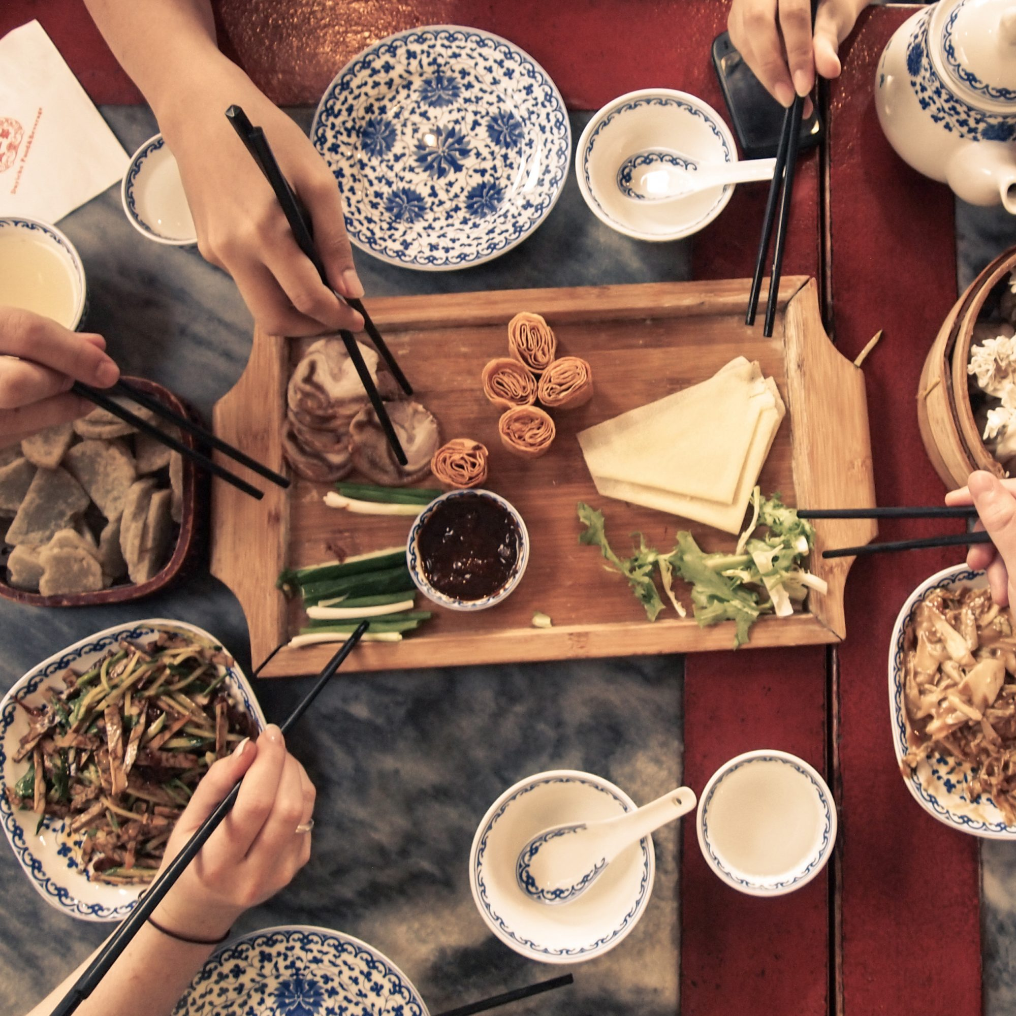 Chinese cuisine: a selection of sites