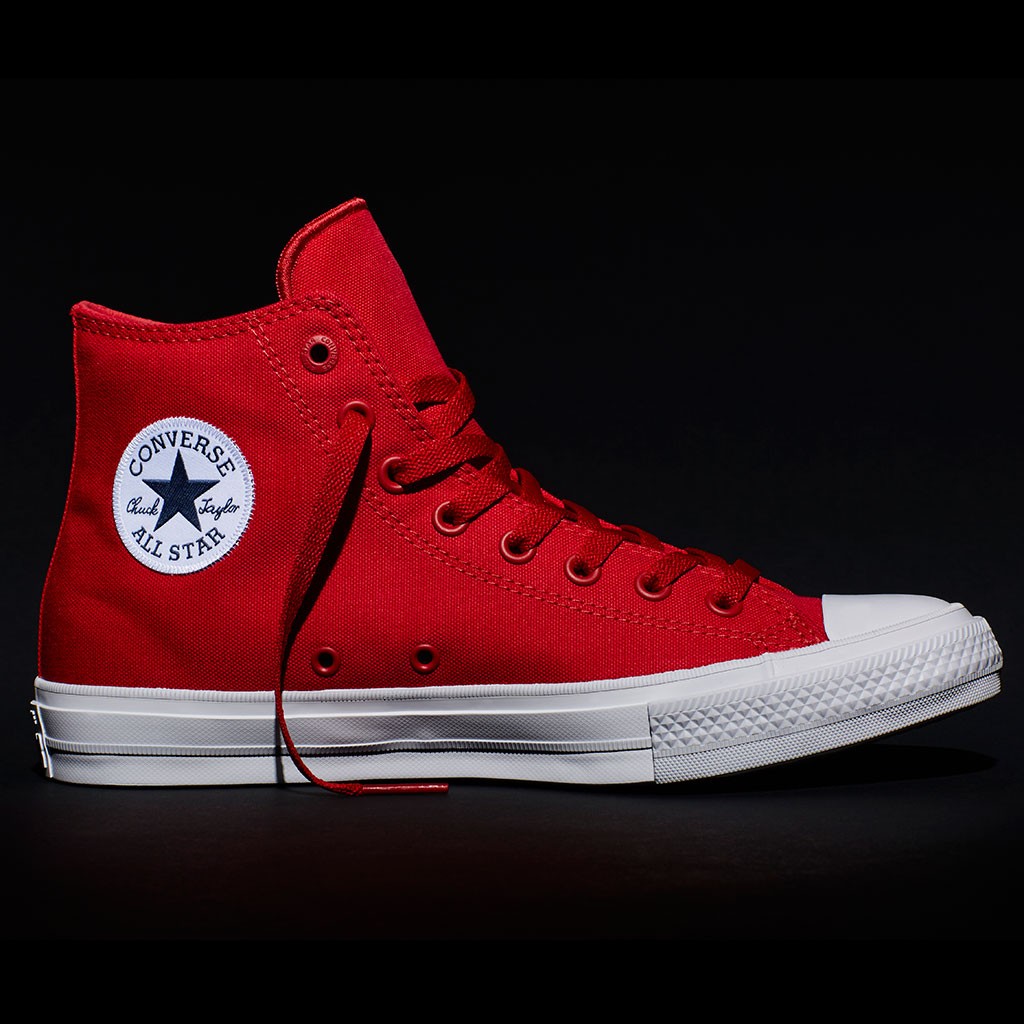 FWX CHUCK TAYLOR REDESIGN RED HI CHUCK