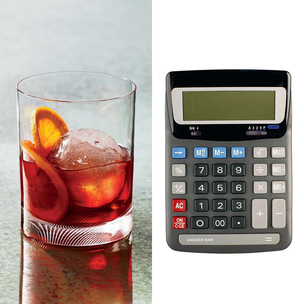 FWX COCKTAIL CALCULATOR