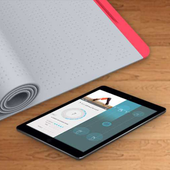This Smart Yoga Mat Tells You How to Fix Your Warrior Pose