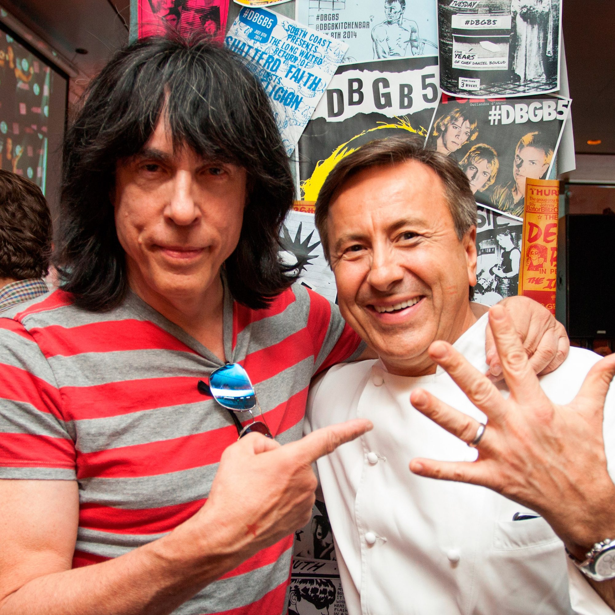 Punk Legend Marky Ramone's Classic Summer Playlist with Daniel Boulud