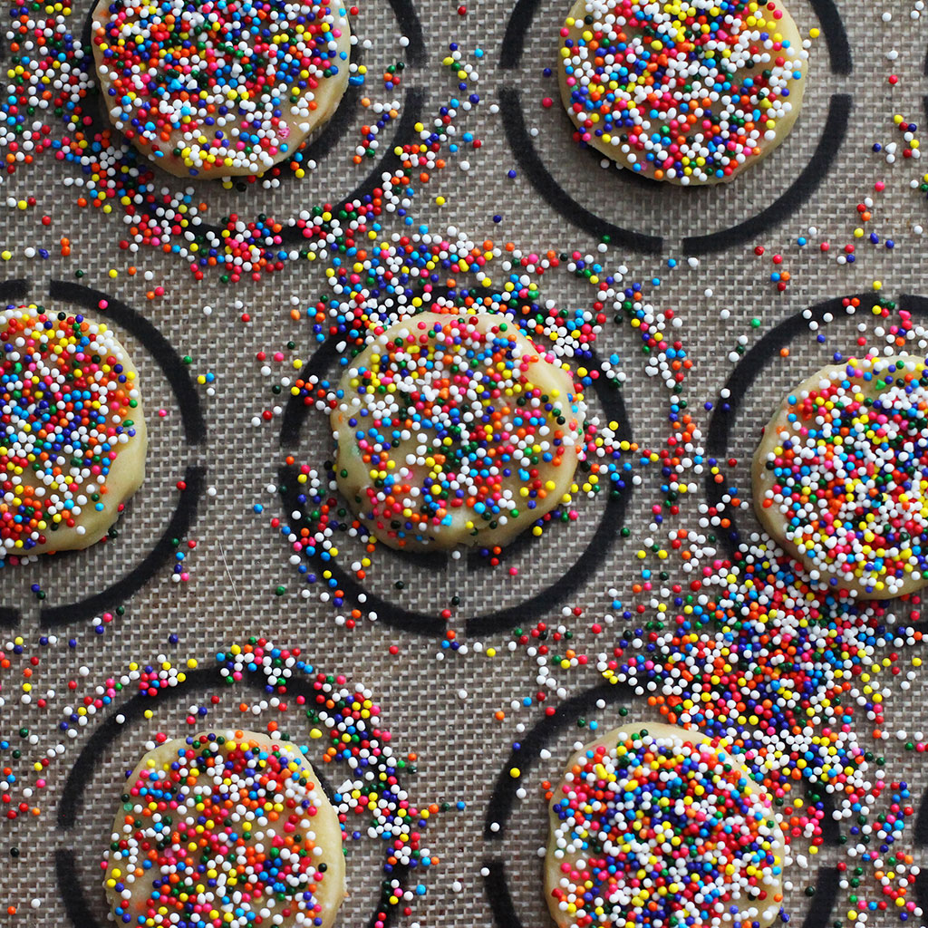 Funfetti Cookies, Made from Scratch (No Boxes Necessary)