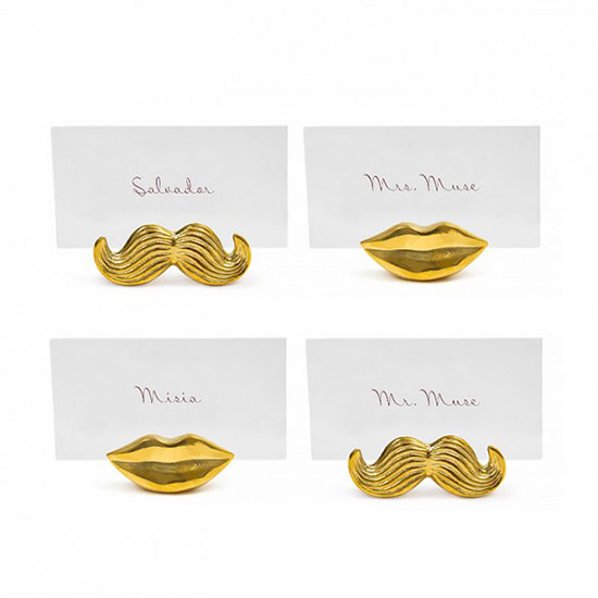 FWX DOMAINE 9 PERFECT PLACE CARD HOLDERS TO SHOP NOW JONATHAN ADLER