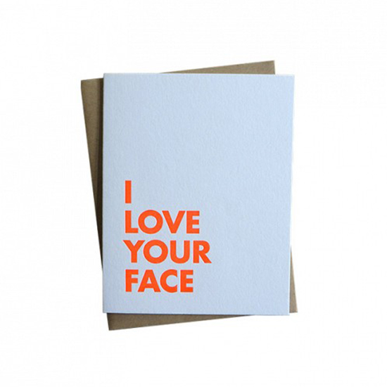 FWX DOMAINE HOME VALENTINES DAY CARDS YOUR FACE