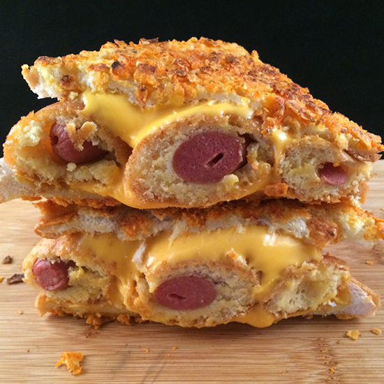 FWX DORITO CORN DOG GRILLED CHEESE