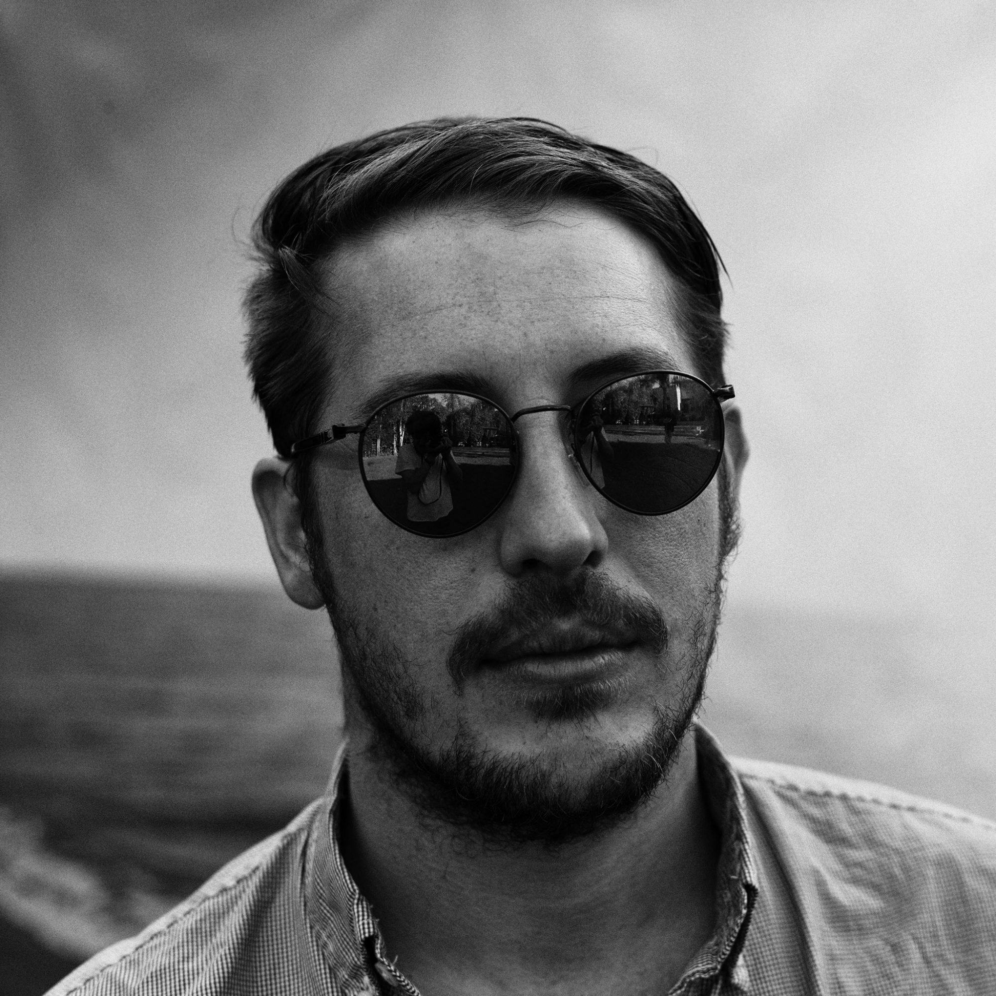 Zach Carothers, bassist for indie rock band Portugal. The Man