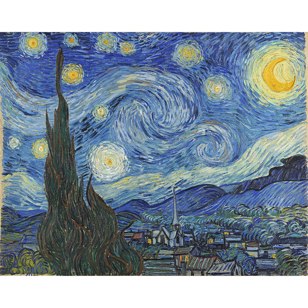 FWX EGGSHELL ART STARRY NIGHT