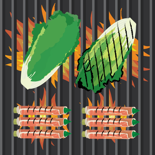 How to Grill Leafy Greens and Vegetables