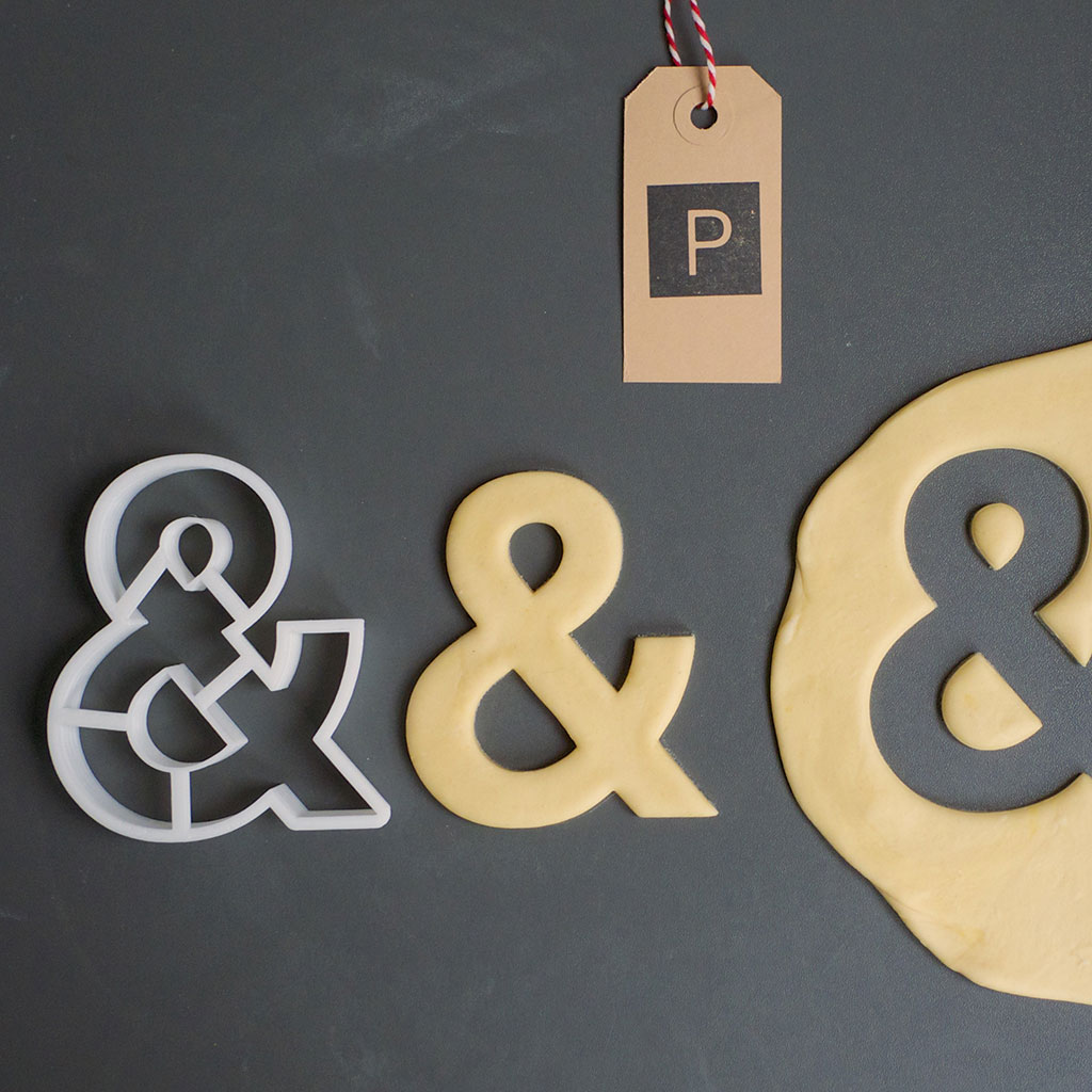 Classic Font Cookie Cutters