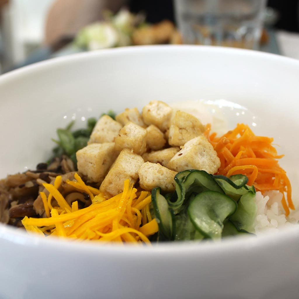 Bibimbap at the Korean Pavilion