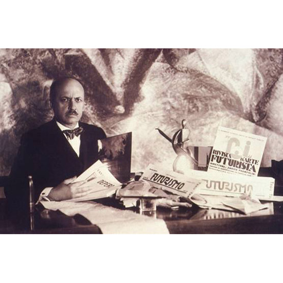 Futurism founder and cookbook author F.T. Marinetti