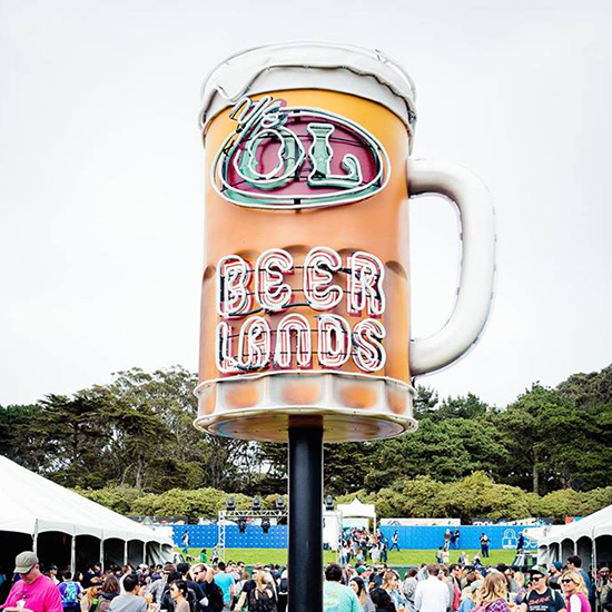 FWX GASTROMAGIC AT OUTSIDE LANDS