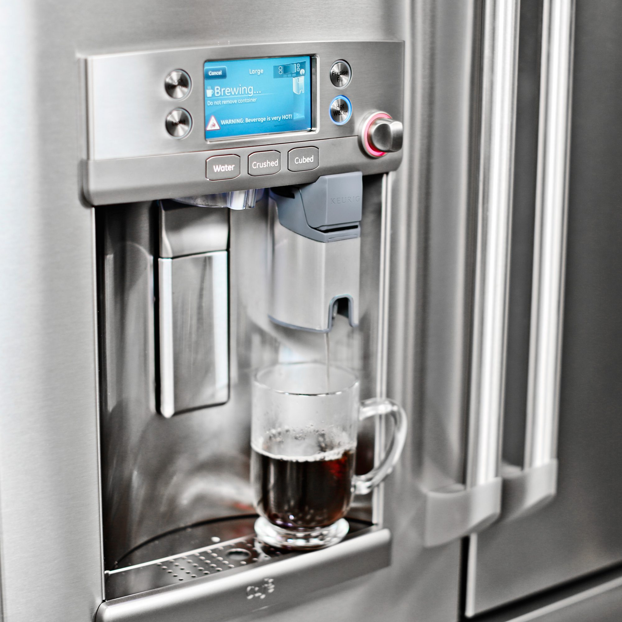 New Refrigerator Has Built In Wi Fi Enabled Keurig Coffee