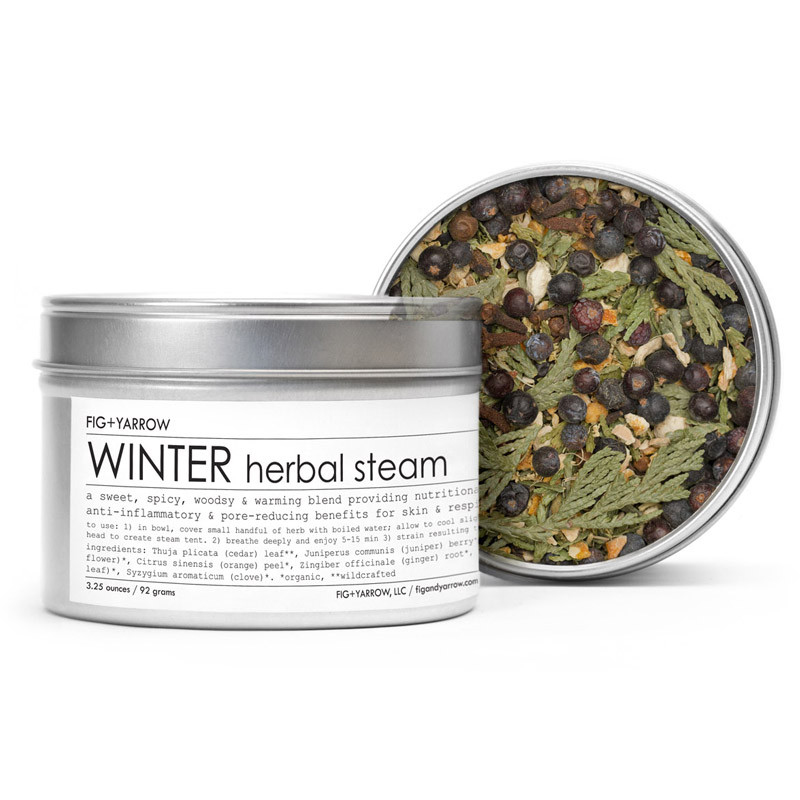 Fig and Yarrow Herbal Steam