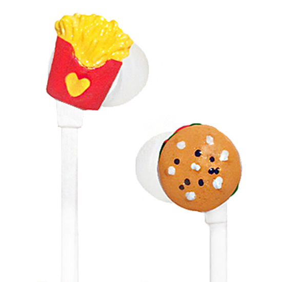 Burger & Fries Earbuds