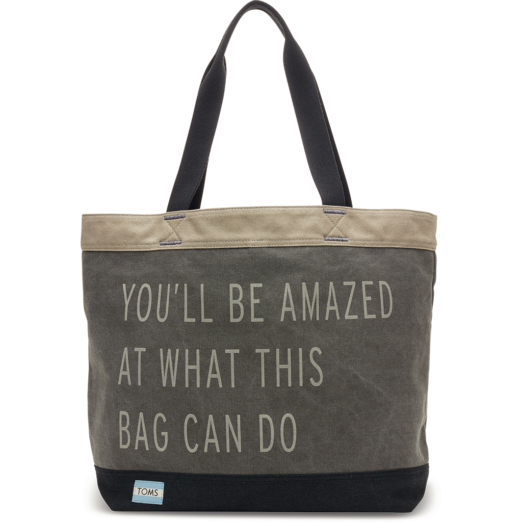 You'll Be Amazed Transport Tote