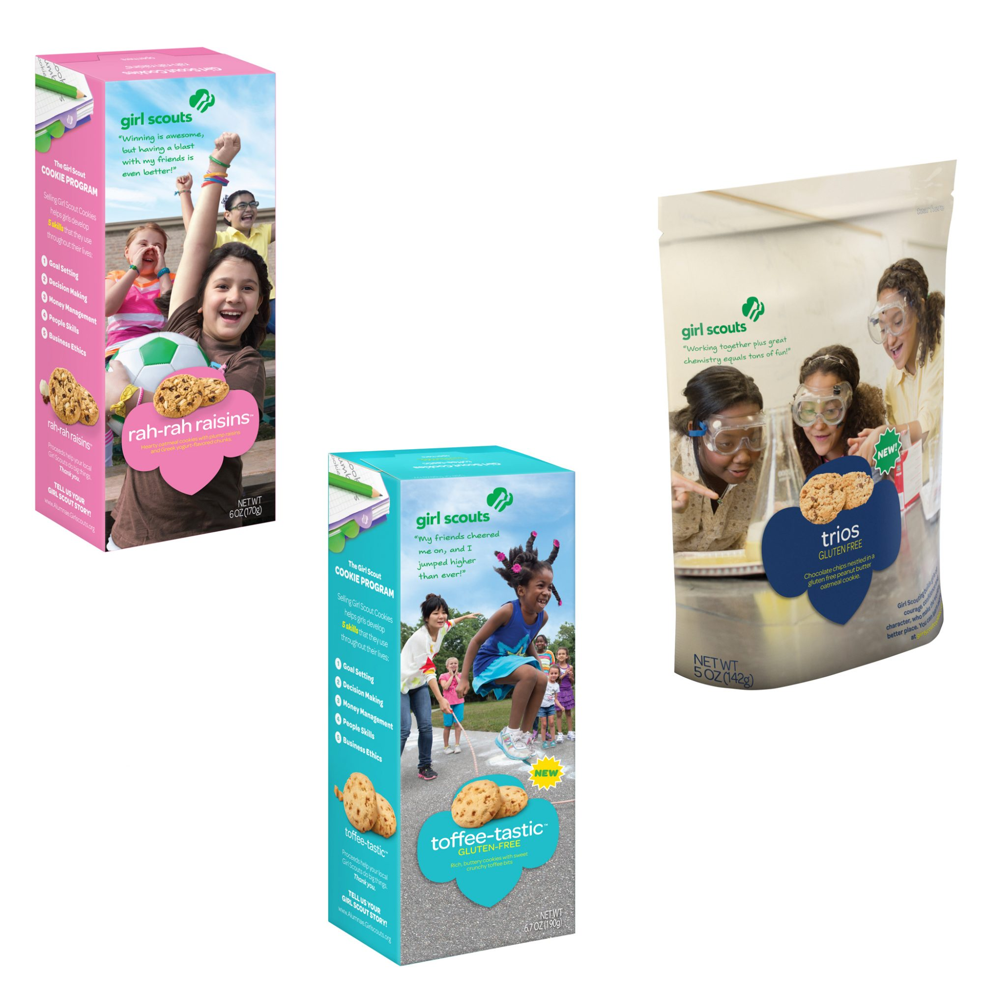 FWX GIRL SCOUT COOKIES NEW