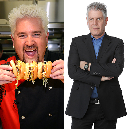 FWX GUY FIERI ANTHONY BOURDAIN FEUD