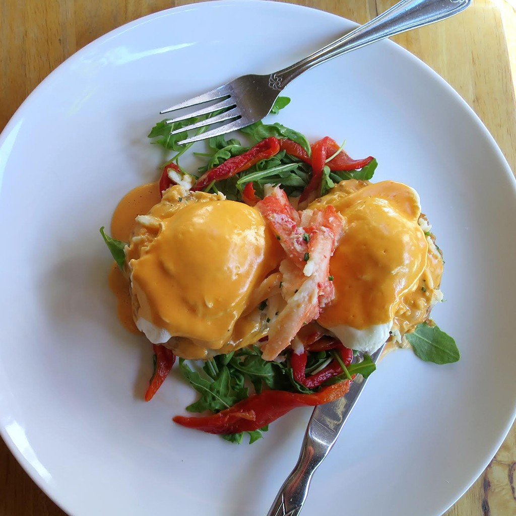 Fried Green Tomatoes Benedict