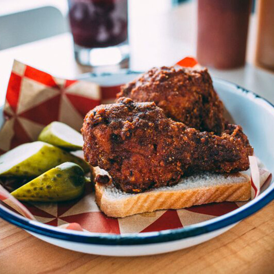 Hot-As-Hell Fried Chicken
