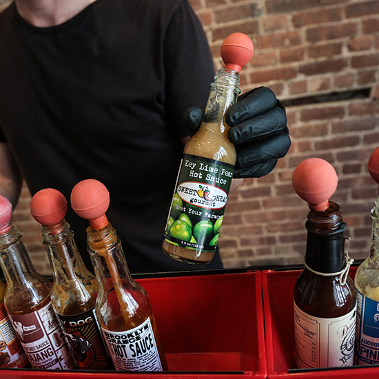 3 Strange and Wonderful Hot Sauces and What to Eat Them With
