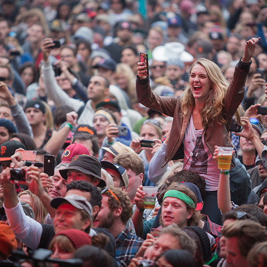 One must stop location at Outside Lands.