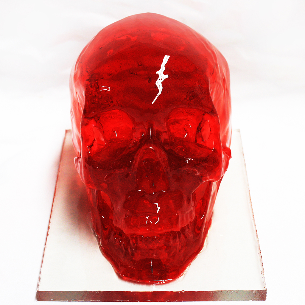FWX HUMAN FIGURES FROM SUGAR STRAWBERRY SKULL