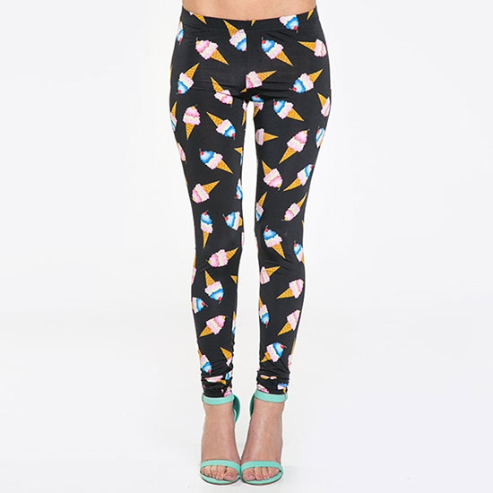 I Scream For Ice Cream Leggings