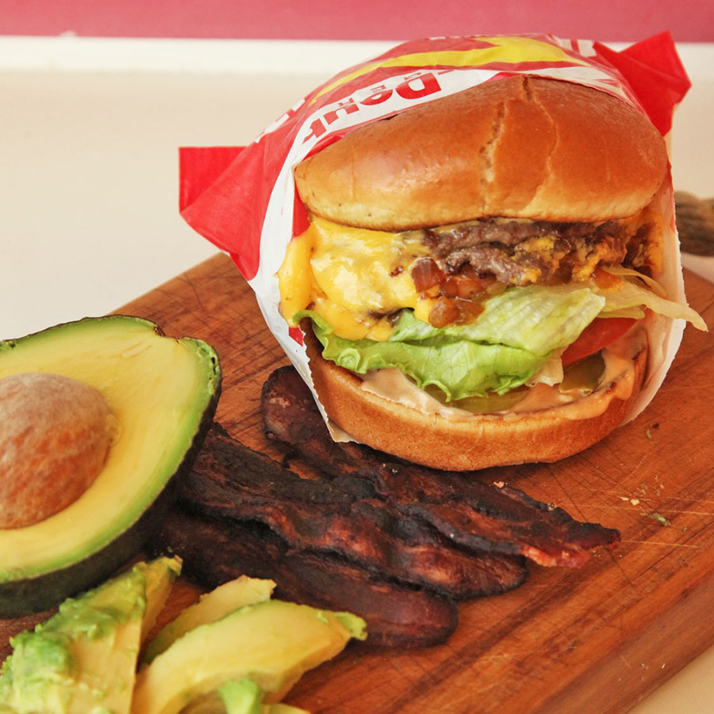 FWX IN N OUT BURGER AVOCADO BACON