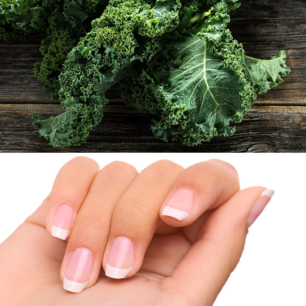 A Kale Manicure Isn't as Ridiculous as it Sounds