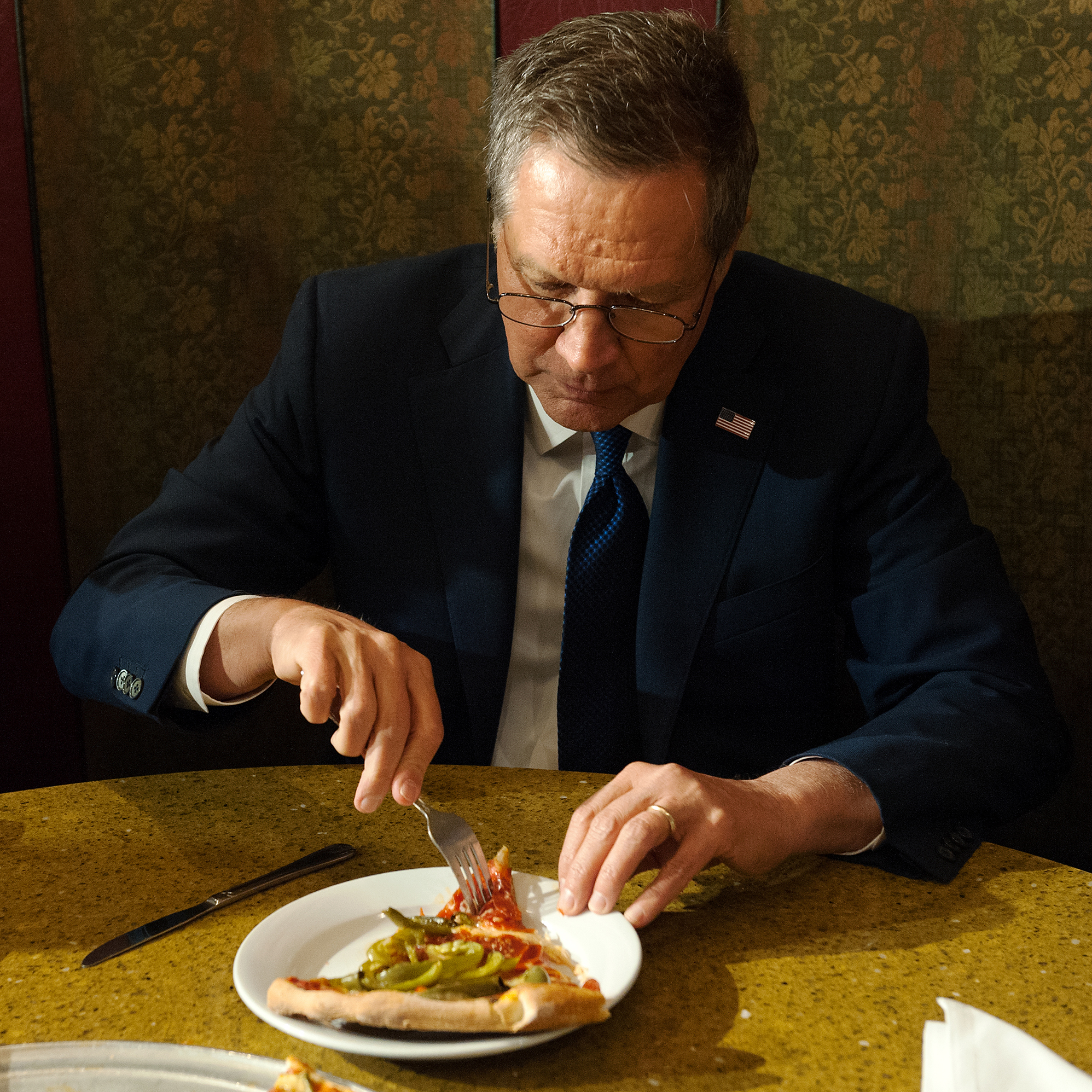 John Kasich's Values Don't Include Proper Pizza Eating