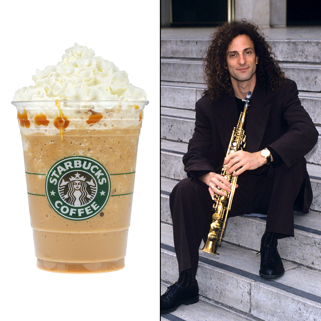 FWX KENNY G INVENTED THE FRAPPUCCINO