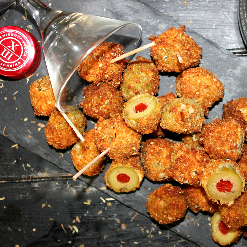 FWX KITCHEN TRASH DEEP FRIED DIRTY MARTINIS