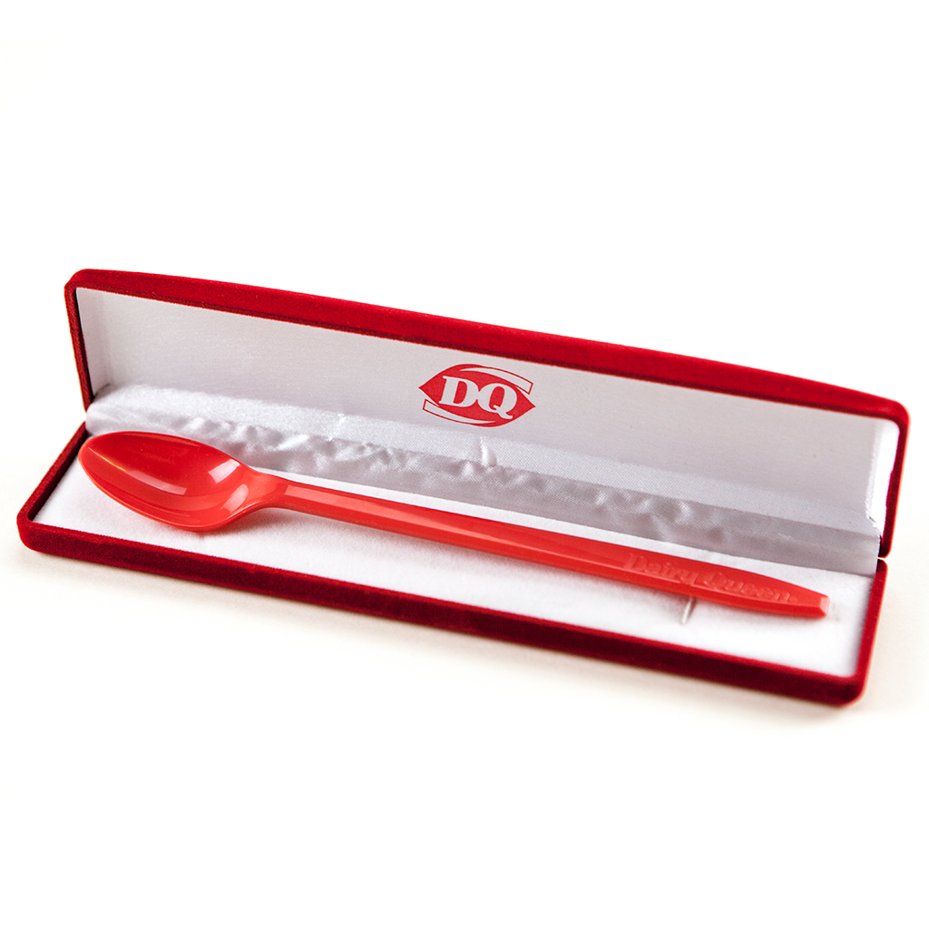 FWX KITCHEN TRASH DQ RED SPOON