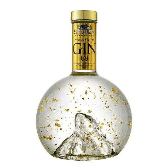 FWX KITCHEN TRASH GOLD GIN
