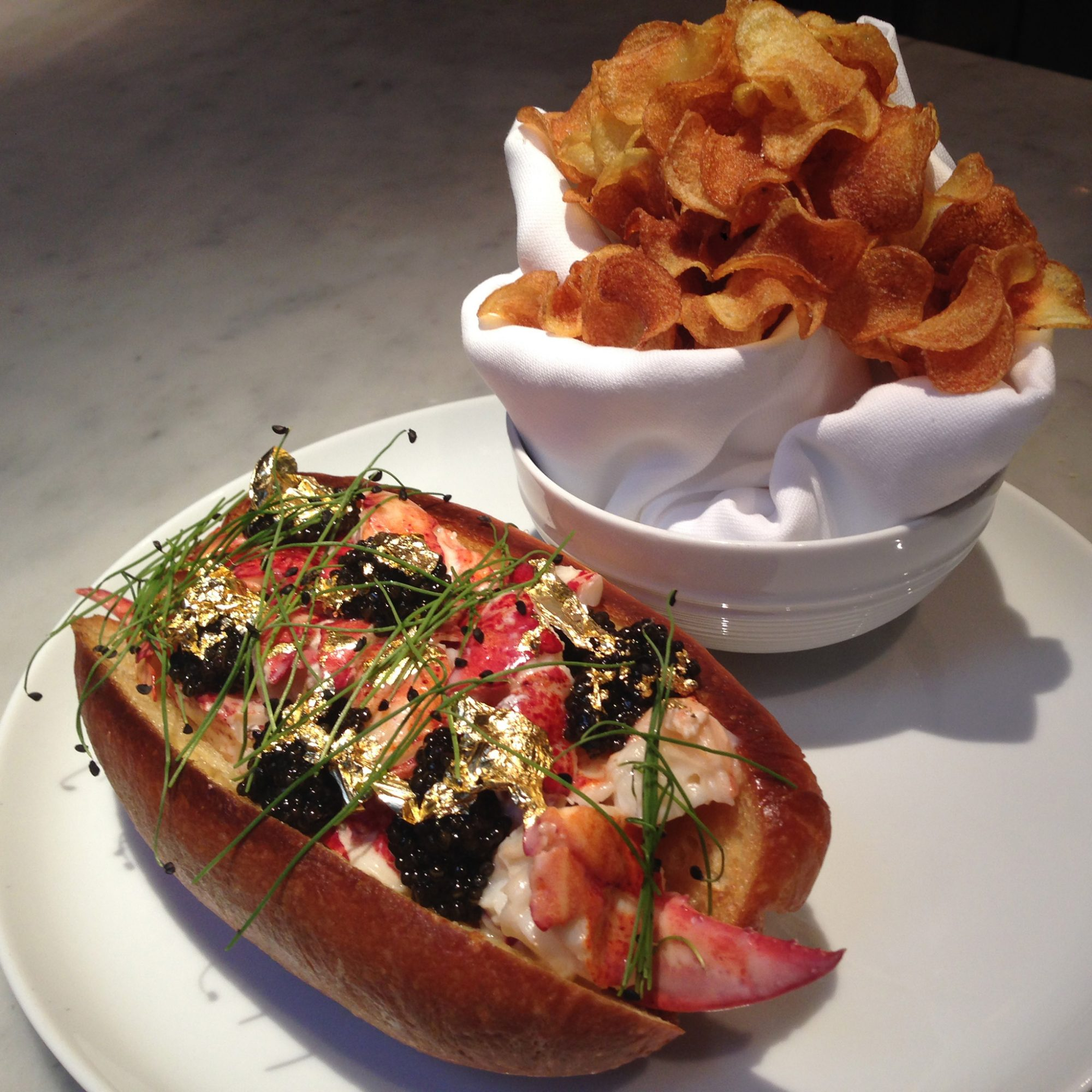 FWX KITCHEN TRASH LOBSTER ROLL BLT FISH
